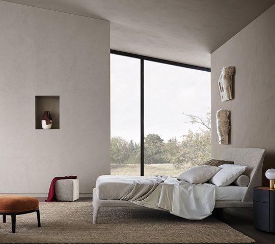 Abaca Rug in Bedroom